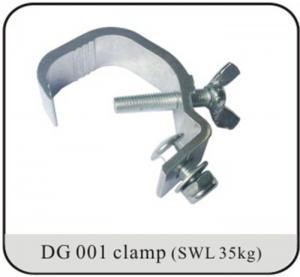 China Truss Accessories 25mm Tubing C Clamp Aluminum Lighting Hanger on sale