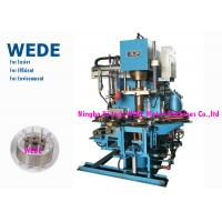 Cheap Pressure Rotor Vertical Die Casting Machine For Rotor 4 Rotary Stations Cycle Time 8 Seconds for sale