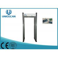 Led Indicator 6 Zone Archway Metal Detector Security Gate For Detecting Scanner