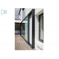 Cheap Large Lighting Area Aluminium Glass Sliding Doors With Chinese Top Brand Accessory for sale