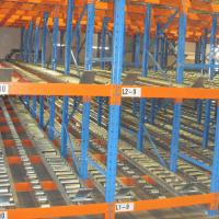 Cheap Industrial Cold Storage Carton Flow Shelving Roller Conveyor System For Warehouse for sale