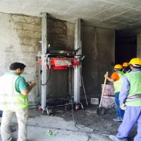 China New Technology Wall Cement Mortar Plastering Machine for Plaster Wall on sale