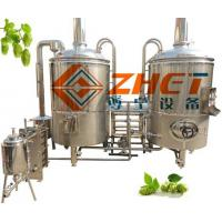 Cheap beer brewing equipment from ZHET for sale
