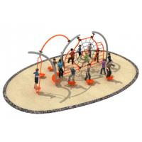 Cheap 600*350*250cm Rope Play Structures Outdoor Playground Middle Size For Grass Land TQ-TN503 for sale