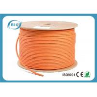 600 MHz Cat 7 Cable 1000 FT , Cat 7 Shielded Ethernet Cable HDPE Insulation