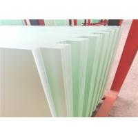 Cheap Grade A Transparent Glass Solar Panels 3.2MM Electricity Generation Application for sale