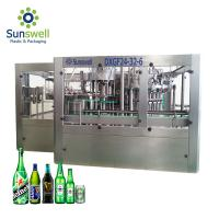 Cheap Brewery Use Automatic Bottle Filling And Capping Machine 5000 Bottles Per Hour Rotary Type for sale