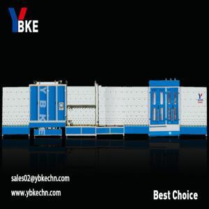 China Double glazing unit making glass washing machine with press line on sale