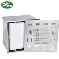 Stainless Steel ULPA Clean Room Hepa Filter Box 660*660*400mm Out Dimension