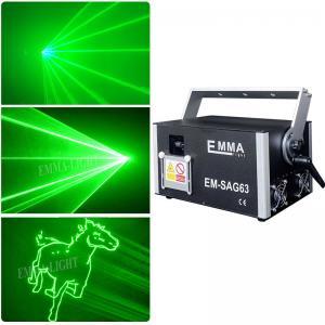 Cheap High power 3000mw single green Animation Dj Laser Performer laser stage lighting, 3 Watt Laser ILDA for sale
