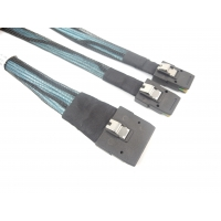 Cheap Tinned Copper 30AWG SFF 8087 Male 36Pin Internal SAS Cable for sale