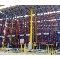 Cheap Corrosion Protection ASRS Automated Pallet Racking System For Cold Warehouse for sale