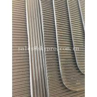 China Black Safety Workplace Rubber Matting For Flooring , Shore A Or Shore D Hardness on sale