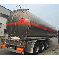 Quality Best price 45000 liters palm oil tanker trailer with thermal isolation wholesale