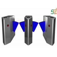 Buy cheap Mechaninical Structure  Flap Barrier Gate Compatible IC ID Card Turnstile from wholesalers