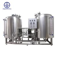 China Durable Commercial Micro Brewing Equipment Thickness 2.0-3.0 Mm Temperature Control on sale
