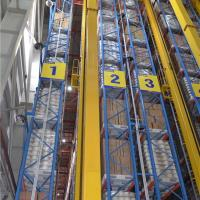 Cheap ASRS Automated Storage And Retrieval System Robot Welding10 - 30m Height for sale
