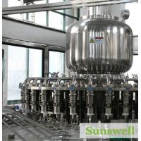 Cheap Muitl-Function Tea Filling Machine , Automatic Filling Capping Machine for sale