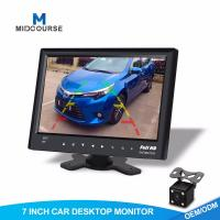 Cheap 7 Inch TFT LCD Car Dashboard Lcd Touchscreen Monitor With Rear View Camera for sale