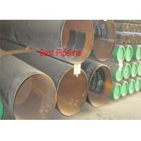 Cheap X46 PSL2 API 5L UOE Steel Pipe , Welded Polyethylene Coating Line Pipe for sale
