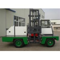 China Airport 4 Ton Solid Tyre Side Loading Forklift Truck With Electric Engine on sale