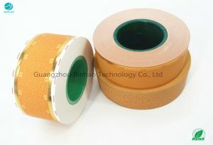 Cheap Yellow Cork Tipping Paper Lip Release Function 34 Gsm Weight for sale