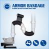 Buy cheap Pipe Leak Tape Leaky Sealing Repair Tape Fiber Wrap Pipe Repair Tape from wholesalers