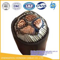 Cheap Hot Sale 4x185mm2 Cu/XLPE/SWA/ PVC Insulated Steel Wire Armoured Power Cable for sale