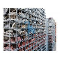 Anti Corrosion Wire Mesh Steel Gabion Baskets For Highways Laying Down