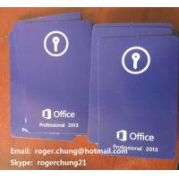 Buy cheap Fast delivery Microsoft Office 2013 Professional Product Key Cards free shipping from wholesalers