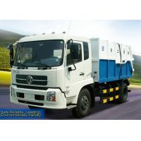 Cheap Custom Sanitation Truck, top opening carriage and sealed carriage Dump trucks, Garbage Dump Truck XZJ5120ZLJ for sale