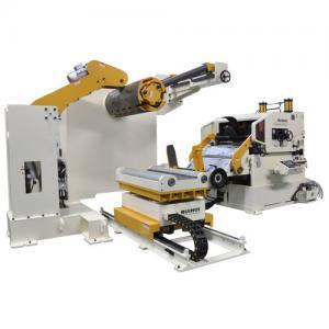Cheap Robot Servo Roller Feeder Sheet Metal Coil Processing / CNC Spot Welding Machine for sale