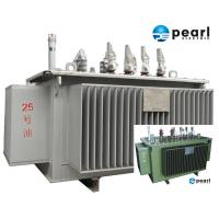 Cheap 33 KV - 500 KVA Low Noise Power Transformer Low Loss ONAN / ONAF Cooling for sale