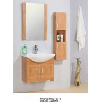 Cheap 60 X 46 / cm Solid Wood Bathroom Cabinet wall mount Ceramic Basin Material for sale