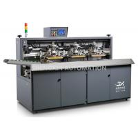 Three Color Automatic Screen Printing Press For Beverage / Wine / Liqour Bottle