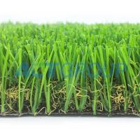 Buy cheap Natural Looking Multifunctional Artificial Grass 40mm Pile Abrasive Resistance from wholesalers
