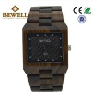 CE Listed Customized Handmade Wood Watches With Mineral Glass , 2 Years Battery Life Manufactures