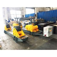 Cheap 120 Ton Pressure Vessel Tank Turning Rolls Conventional Bolt Adjustable Steel Rollers for sale