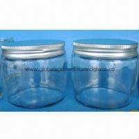 Cheap Machine-made Food Glass Jars with Lid, Very Competitive Price and Best Quality for sale