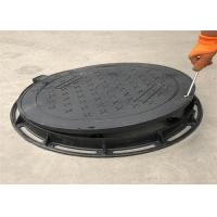 China High Strength Ductile Iron Manhole Cover Grey Black Color Eco Friendly on sale