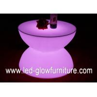 Cheap Low carbon Color Changed led light coffee table with  Remote and bluetooth control for sale