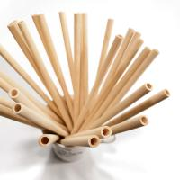 Cheap 2020 Compostable Natural Disposable Eco-friendly Drinking Straw Wheat Bamboo Straw for sale