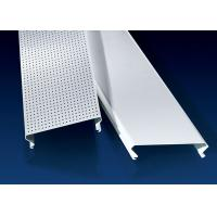 Buy cheap 100mm C-Shape Linear Metal Strip Ceiling Airport Roof Decorated Security from wholesalers