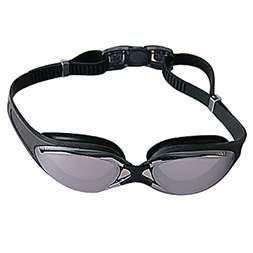 Cheap Anti-fog racing swimming goggle with PC lens custom design S, M, L nose bridge for sale
