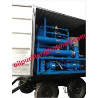 Cheap mobile and outdoor oil filtration machine mounted 4 wheels,Easily-Mobile Trailer Insulating Oil Purifier With Full Cover for sale