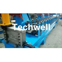 GI. Carbon Steel C Section Roll Forming Machine With 1.5 Inch Chain of Transmission Manufactures