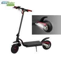 Cheap Eco - Rider Smart Kick Folding Motor Scooter 2000W Dual Battery 48V 10 Inch Wheel for sale