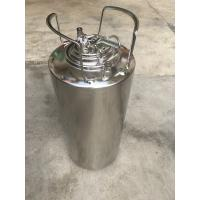 Cheap Eco Friendly Material 5 Gallon Ball Lock Keg With Pressure Relief Valve And Lids for sale