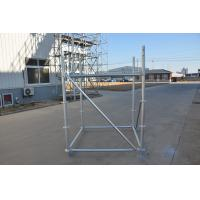 Cheap Hot Dip Galvanized 48.3*3.25 Ringlock Scaffolding With Access Stairs for sale