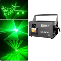 Cheap 1W green 3D Animation Laser Light /Disco Laser Light/Stage Laser Light with SD Card for sale
